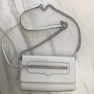 Rebecca Minkoff White Crossbody Bag